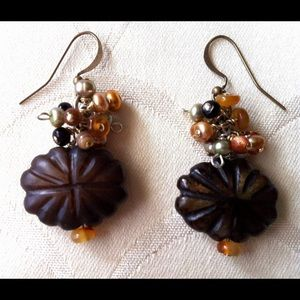 Jewelry - Hand crafted Earrings - Semi precious